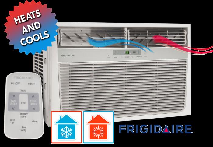 Frigidaire 11,000 BTU Heat/Cool Window Air Conditioner with Remote  / $29.99 A Week