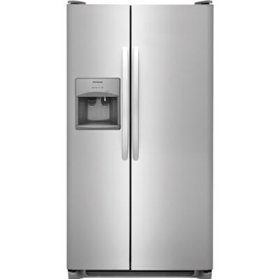 Frigidaire 25.6 Cu. Ft. Side-by-Side Refrigerator  / $32.99 A Week