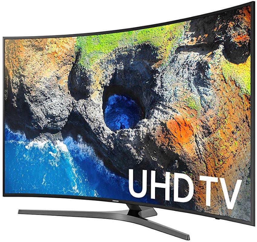 "Samsung 55"" Curved 4K UHD 120Hz LED TV  / $28.99 A Week"