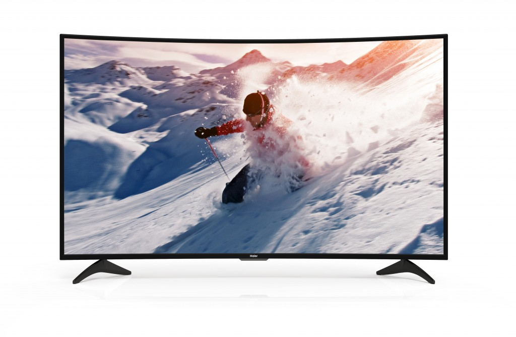 "Haier 65"" Curved 4K LED TV  / $29.99 A Week"