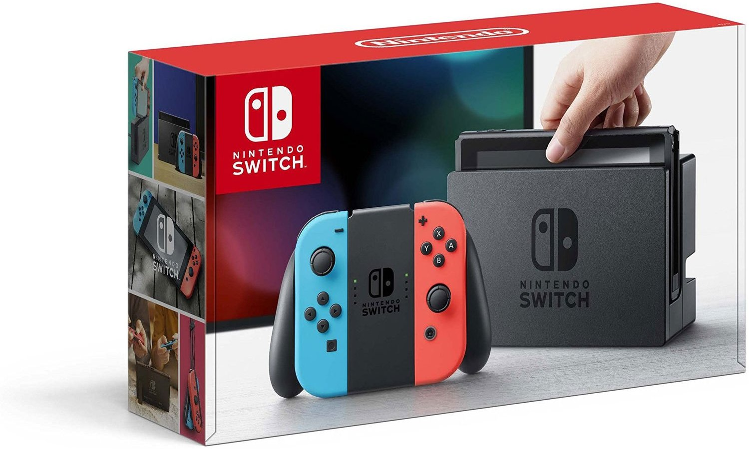 Nintendo Switch - Neon Blue and Red Joy-Con  / $21.99 A Week