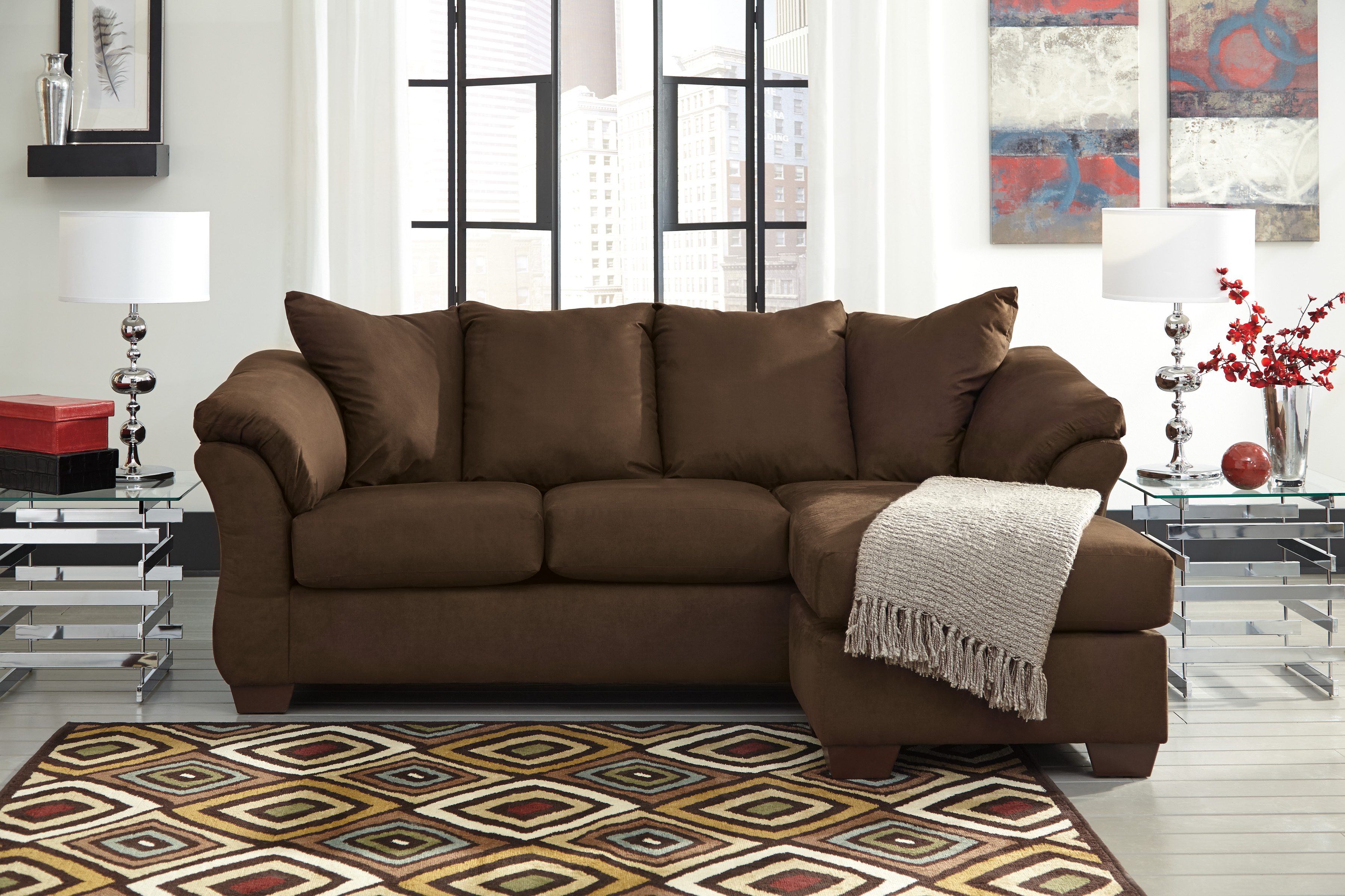 Marvelous Majik Darcy Caf Sofa Chaise And Loveseat Rent To Own Squirreltailoven Fun Painted Chair Ideas Images Squirreltailovenorg
