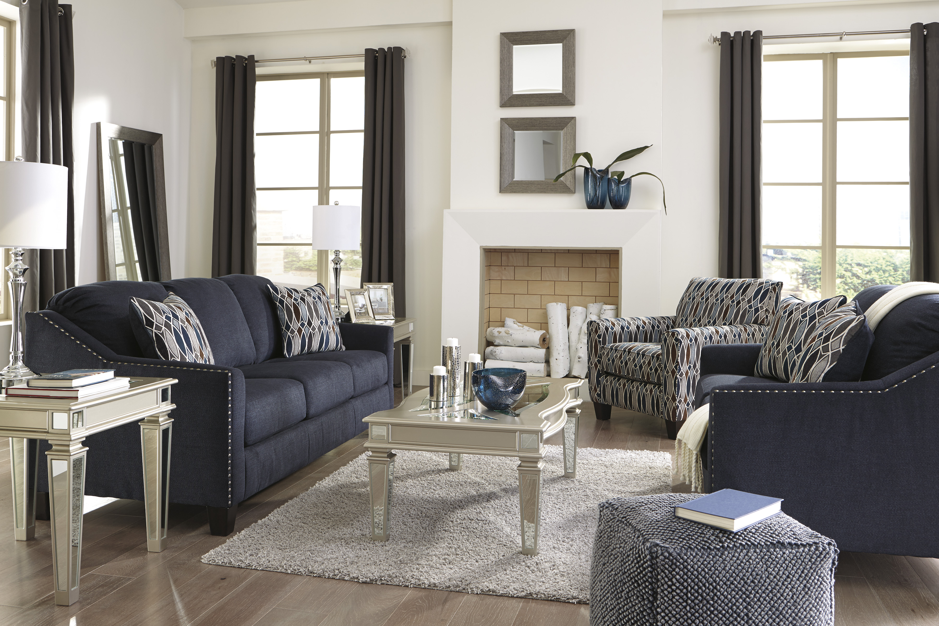Majik Creeal Heights Sofa And Loveseat Rent To Own