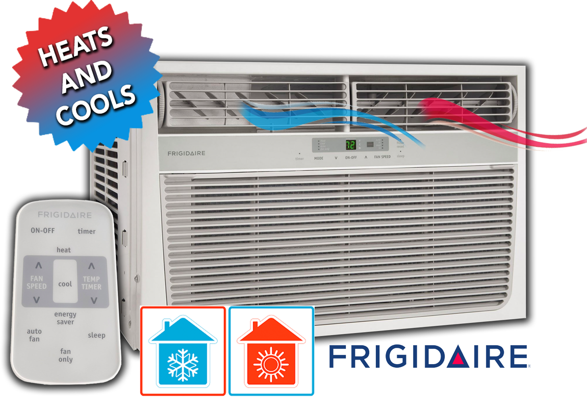 Frigidaire 11 000 Btu Heat Cool Window Air Conditioner