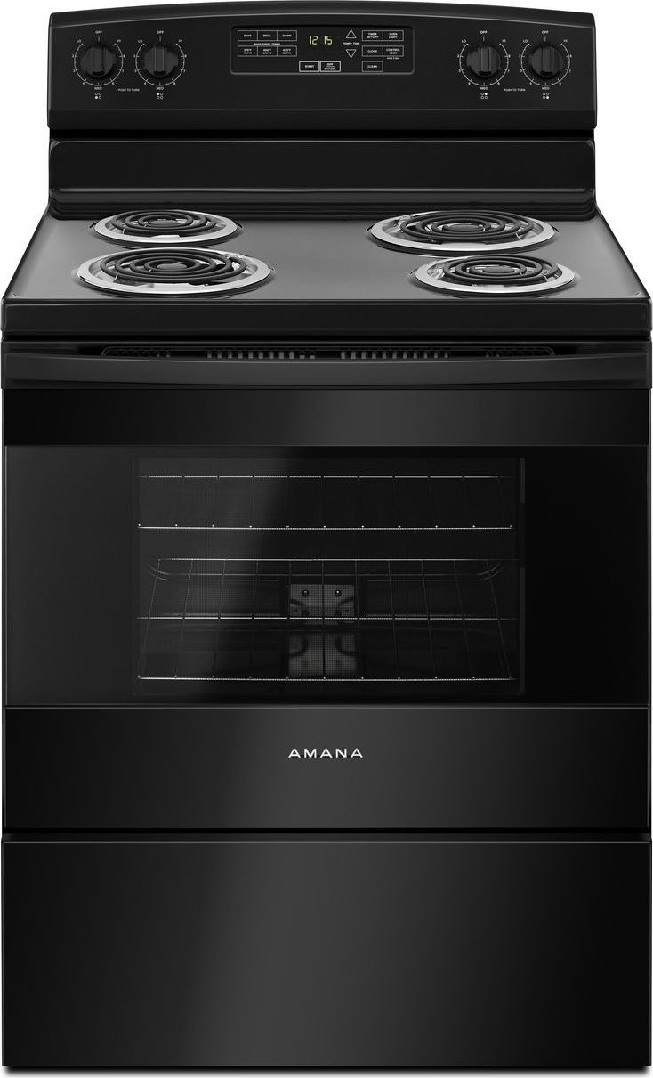 Amana 4.8 Cu. Ft. Coil Top Range  / $16.99 A Week
