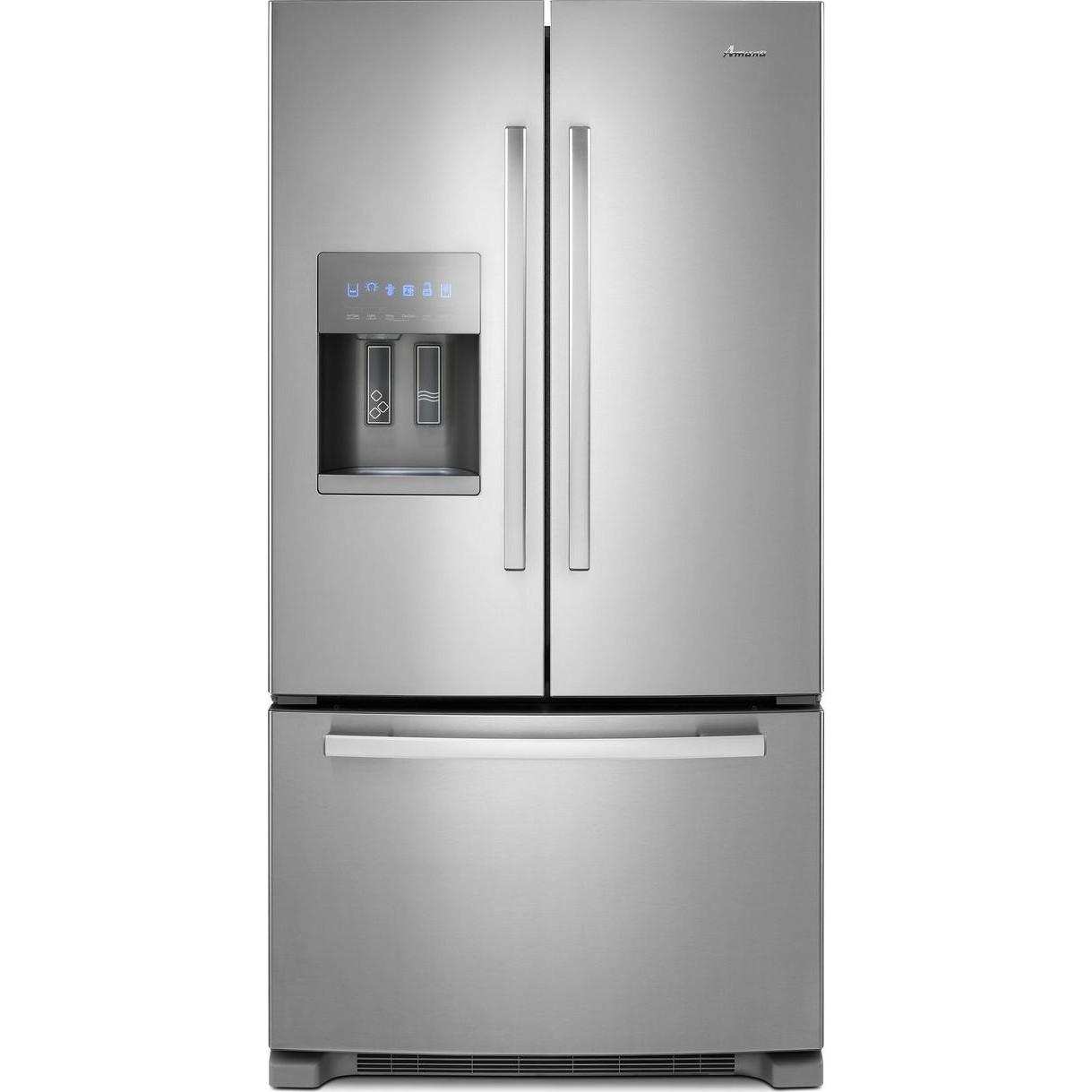 Majik Amana 24 7 Cu Ft French Door Refrigerator Rent