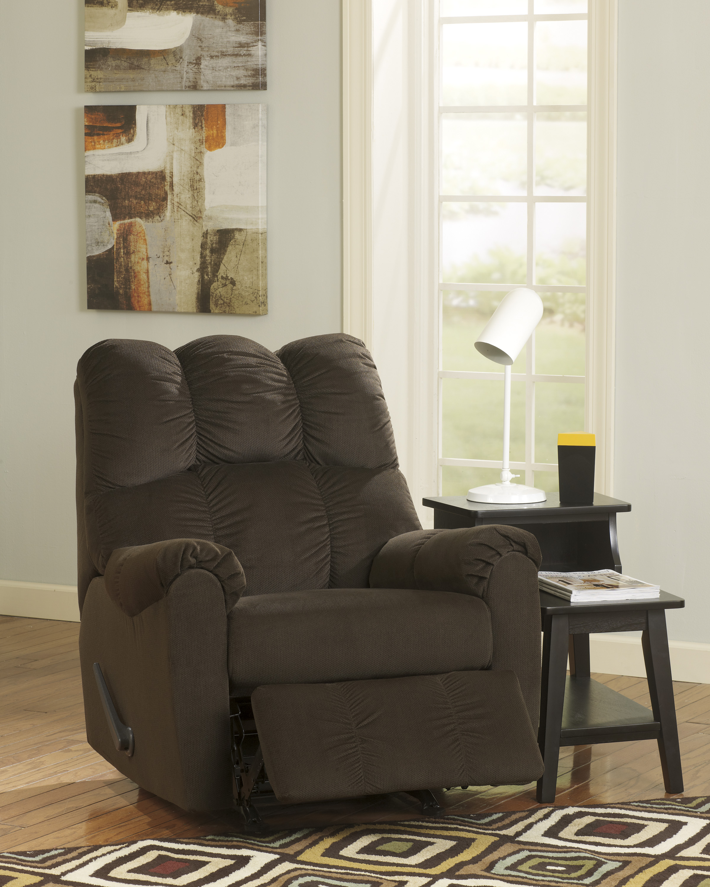 Raulo Chocolate Rocker Recliner : steelers rocker recliner - islam-shia.org