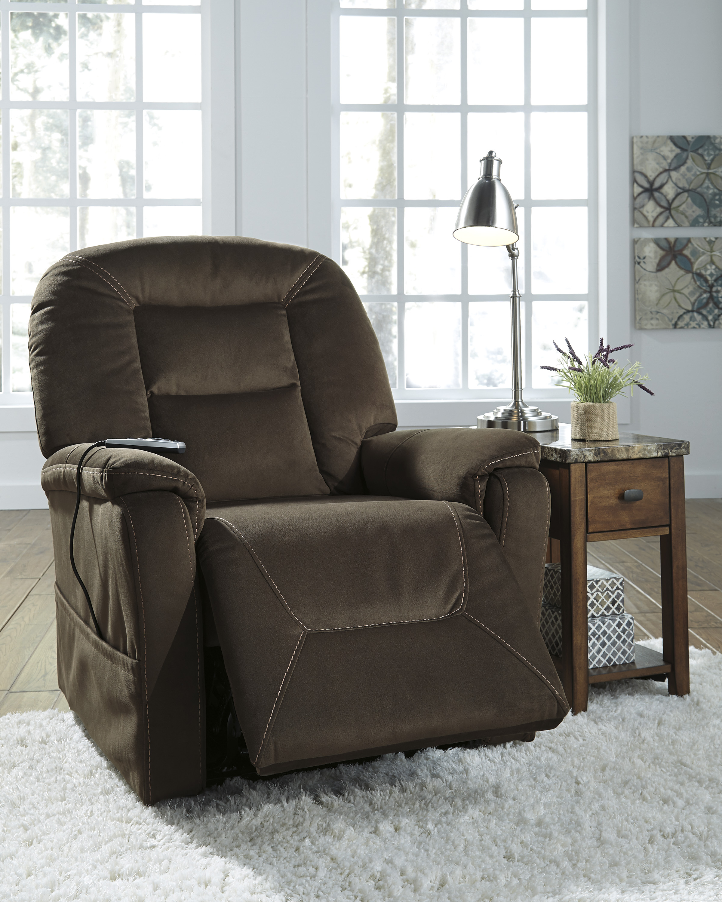 Samir Coffee Power Lift Recliner  / $21.99 A Week