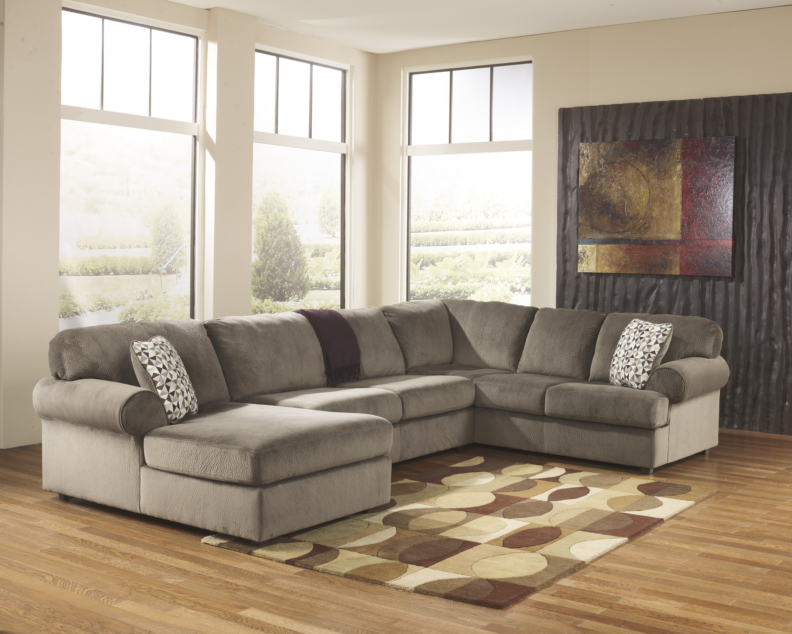 Jessa Place Dune Sectional With Left Chaise  / $29.99 A Week