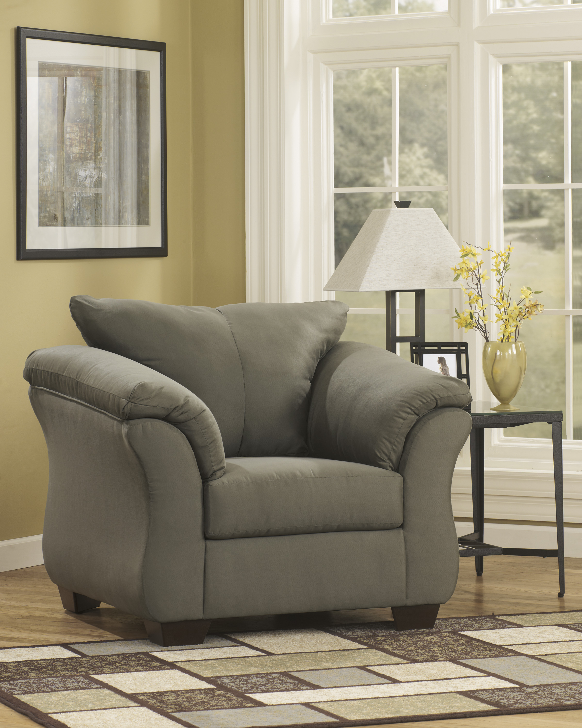 Darcy Sage Stationary Chair  / $12.99 A Week