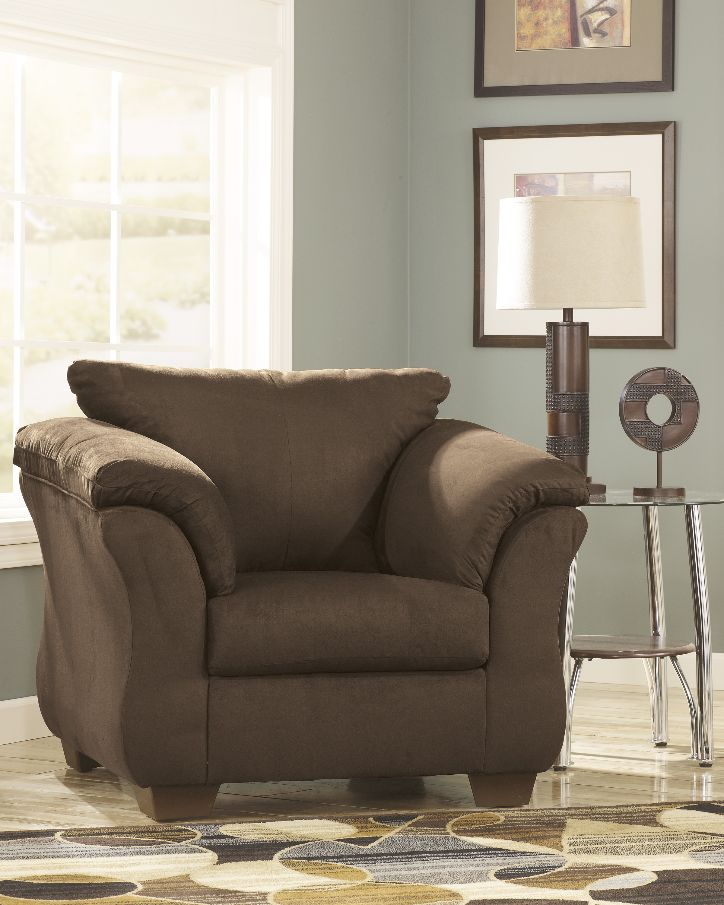 Darcy Cafe Accent Chair  / $12.99 A Week
