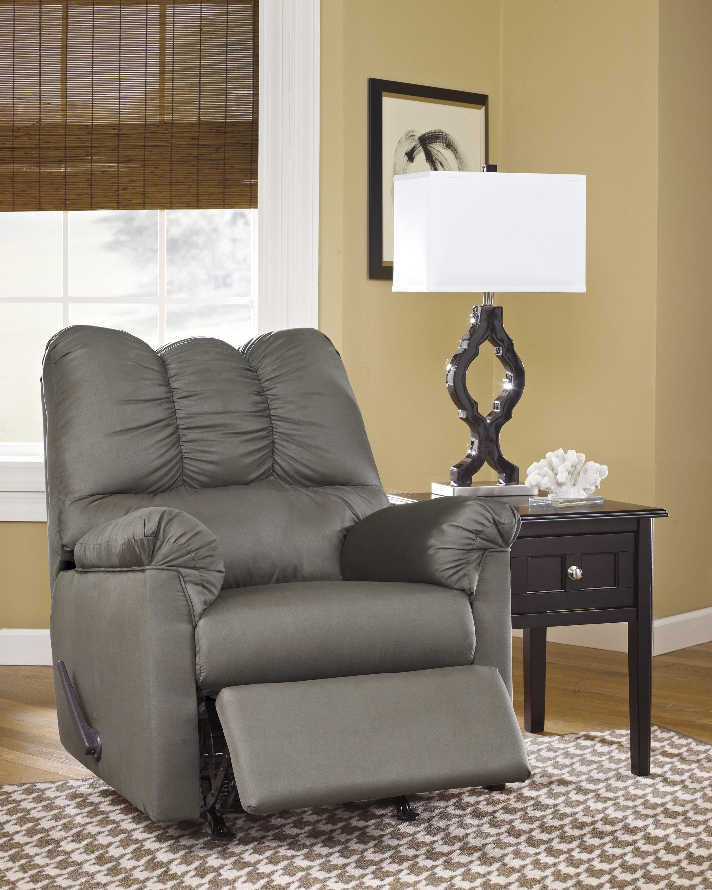 Darcy Cobblestone Rocker Recliner  / $11.99 A Week