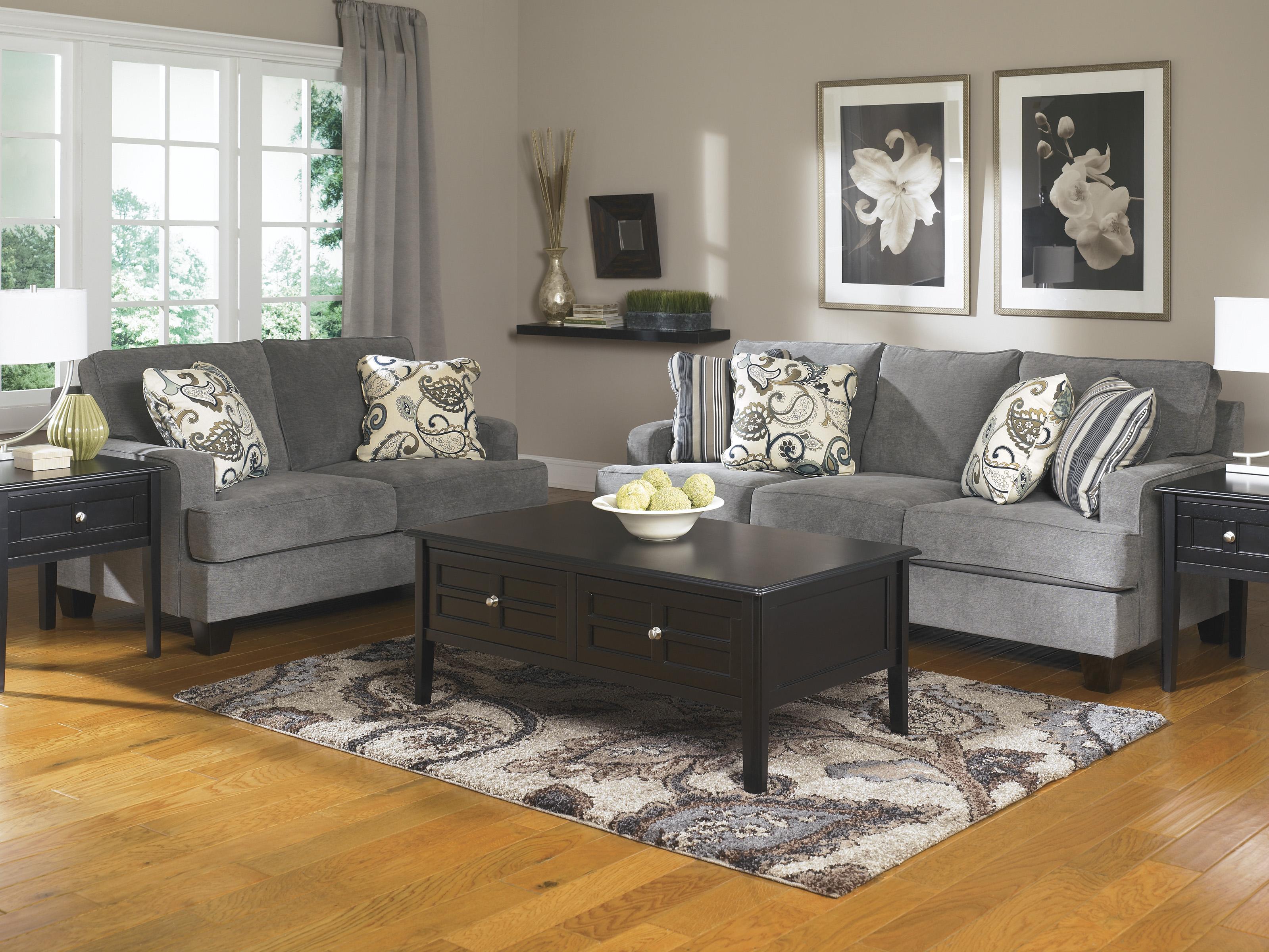 Yvette Steel Sofa and Loveseat  / $29.99 A Week