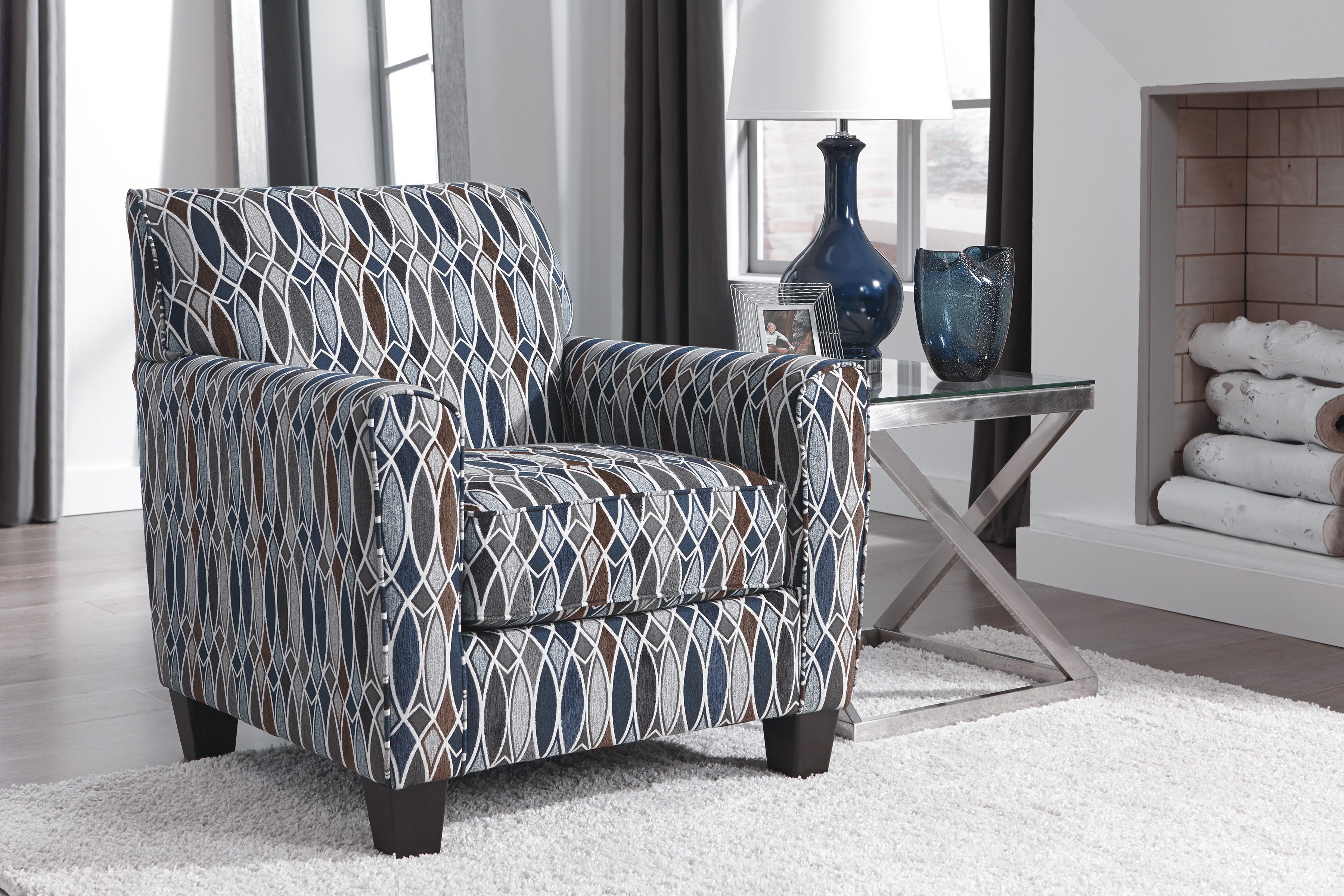 Rent A Center Accent Chairs.Majik Creeal Heights Navy Accent Chair Rent To Own Furniture In