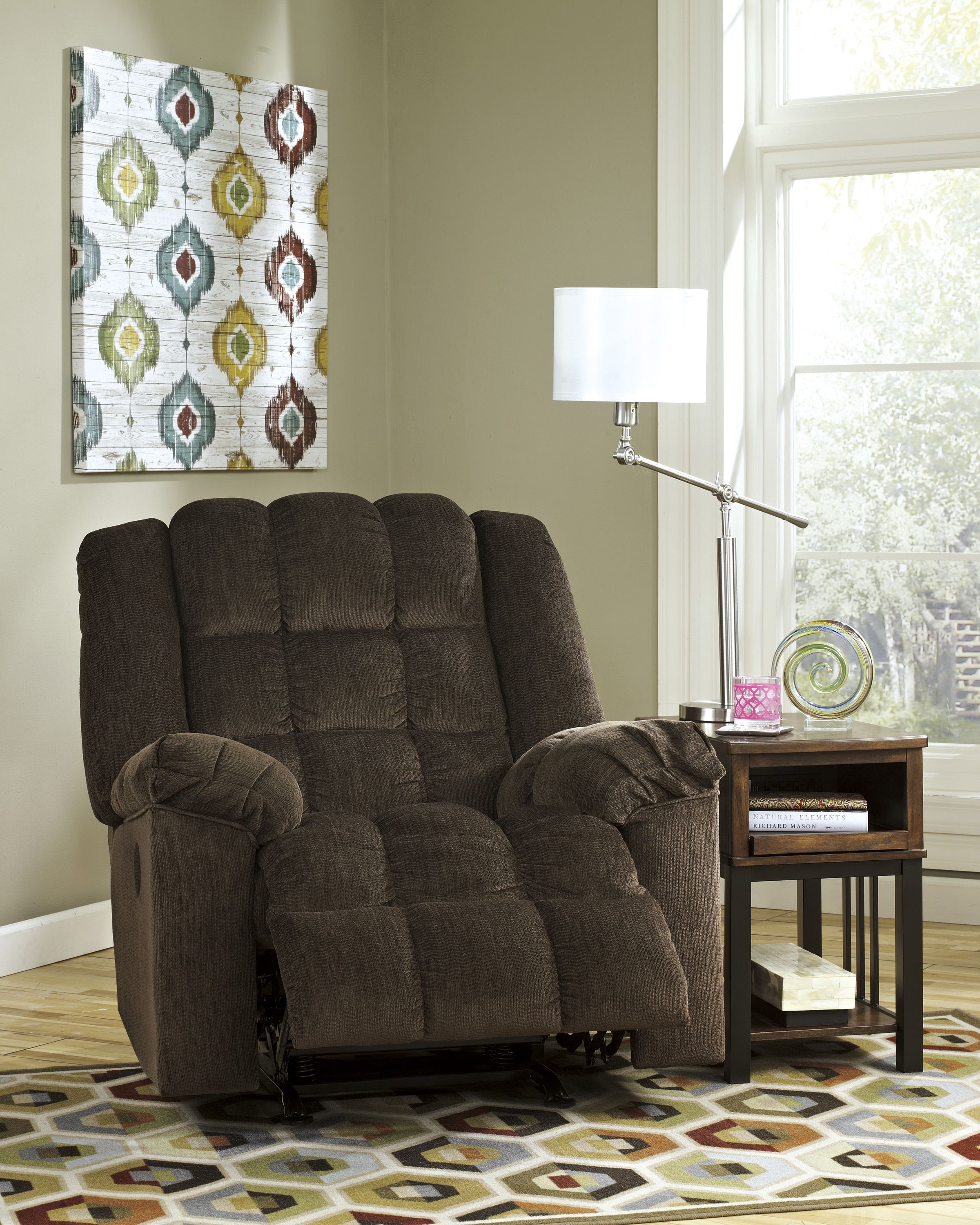 Ludden Cocoa Power Rocker Recliner  / $15.99 A Week