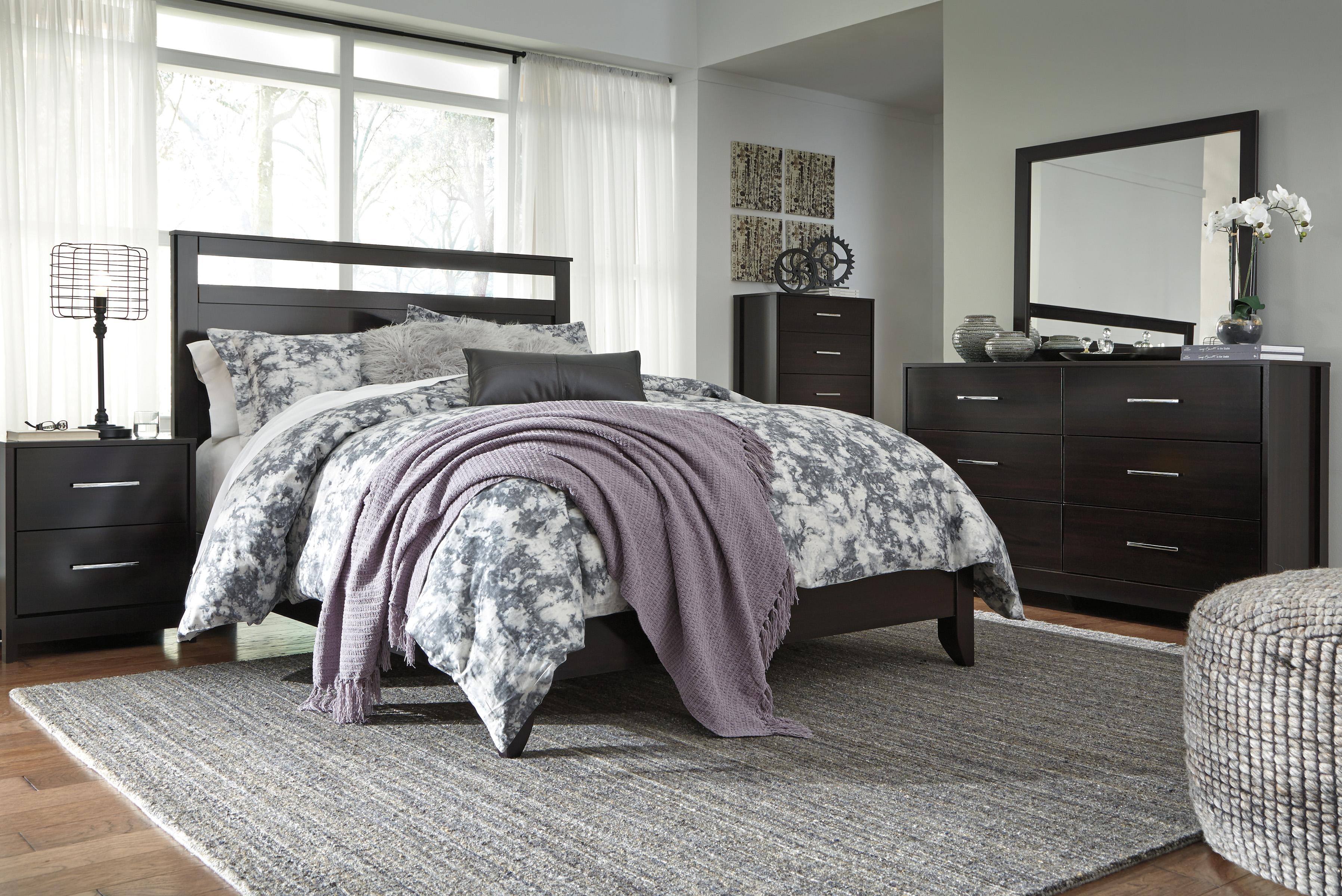 Agella Full/Queen Headboard, Dresser, Mirror & Nightstand  / $21.99 A Week