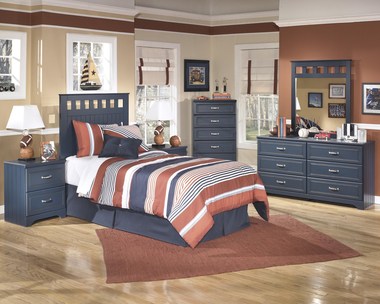 Leo Youth Blue Twin Headboard, Dresser & Mirror  / $14.99 A Week