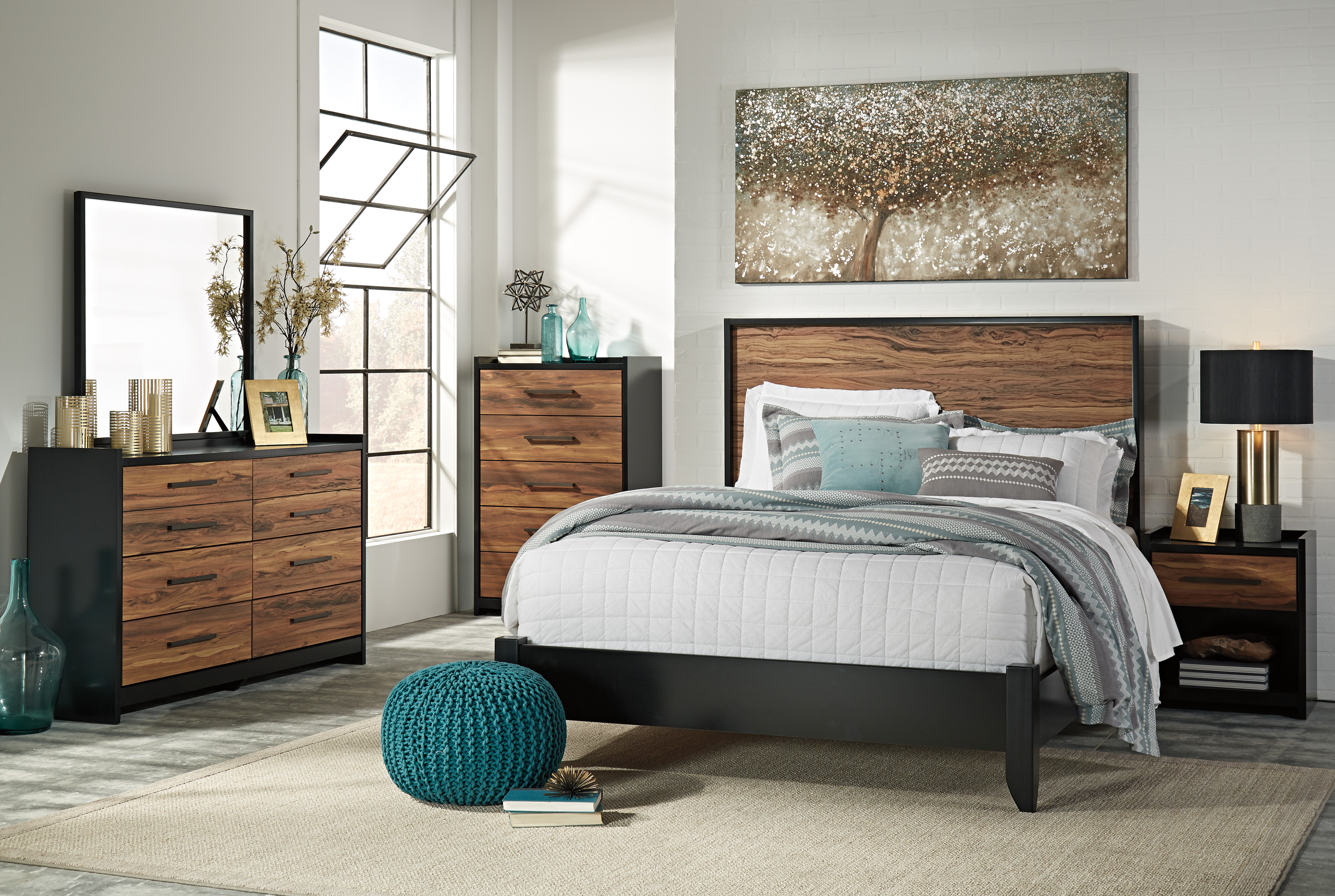 my sets furniture bedroom set place grey products queen modesto bed