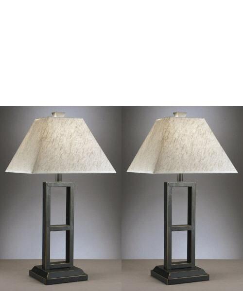 Deidra - Black Metal Table Lamps  / $8.99 A Week