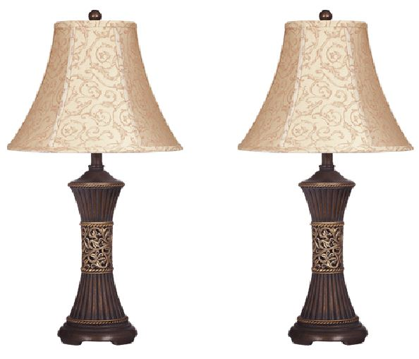 Mariana - Bronze Finish Poly Table Lamps  / $4.99 A Week