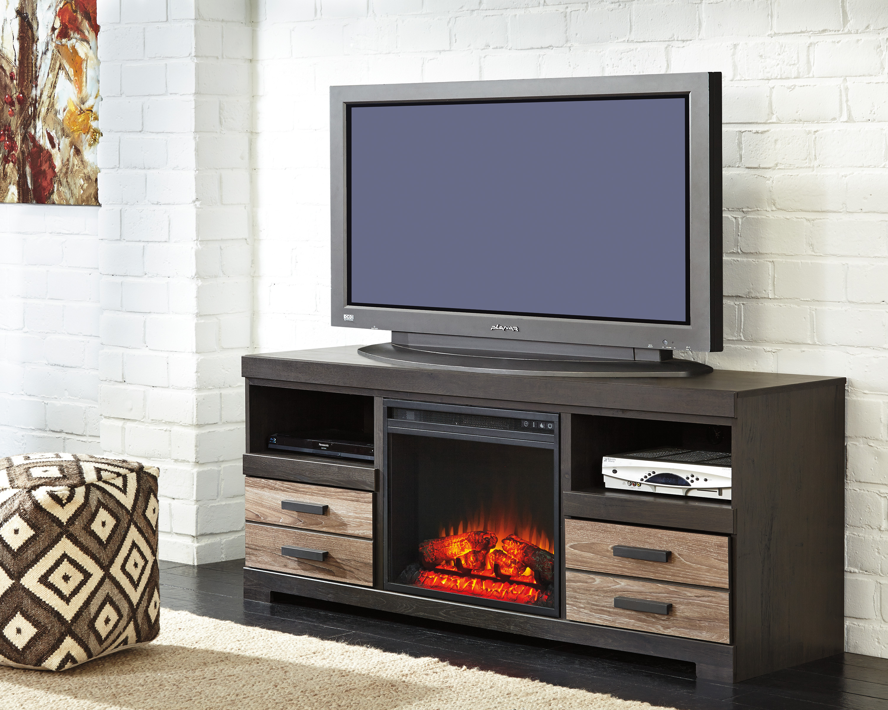 fireplace beach floating laguna center media with entertainment fireplaces contemporary countycustom cabinet pin built in