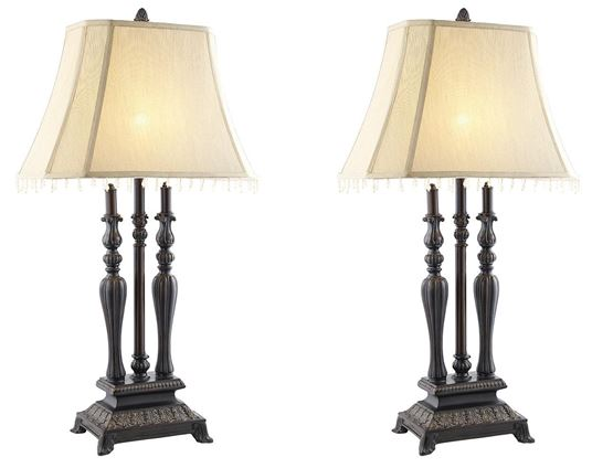Fluted Turned Lamps  / $7.99 A Week