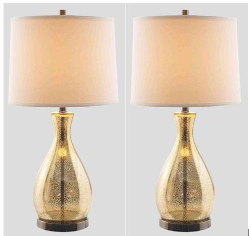 Maddi Mercury Glass Table Lamps  / $7.99 A Week