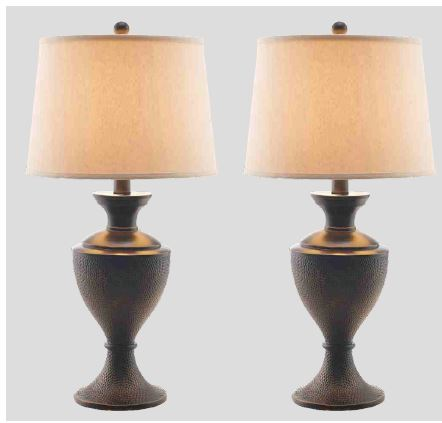 Gaby Copper Urn Table Lamps  / $7.99 A Week