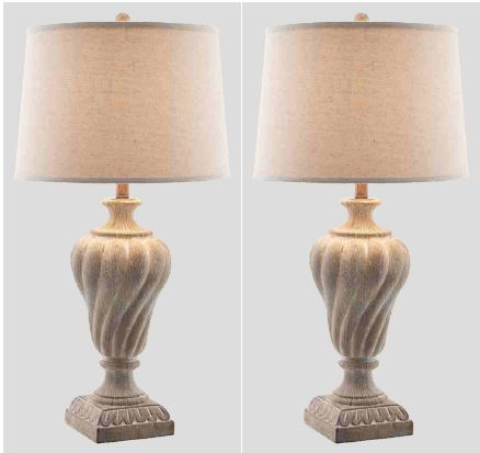 Padma Washed Finish Urn Table Lamps  / $7.99 A Week