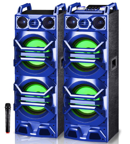 Bass Smasher Double 10' BT/USB Speakers  / $13.99 A Week