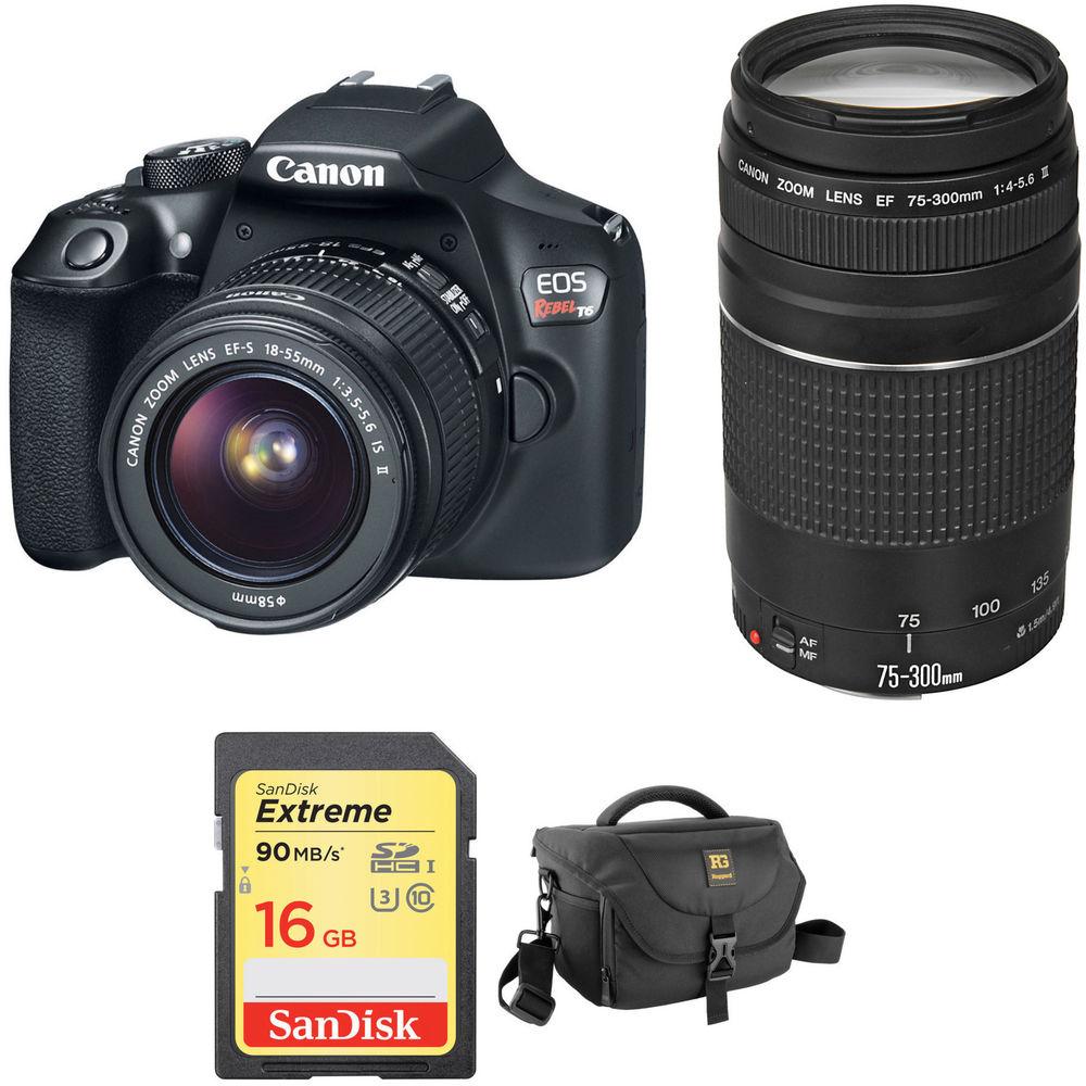 Canon SLR Black Rebel Camera, Lens and Memory Card  / $23.99 A Week