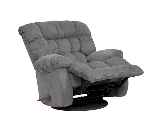 Majik Blue Chaise Swivel Glider Recliner Rent To Own