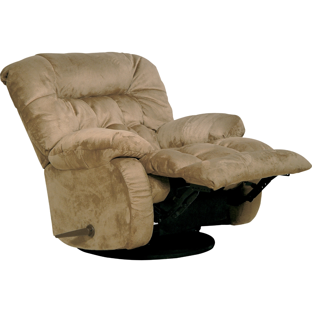 Brown Chaise Swivel Glider Recliner  / $15.99 A Week