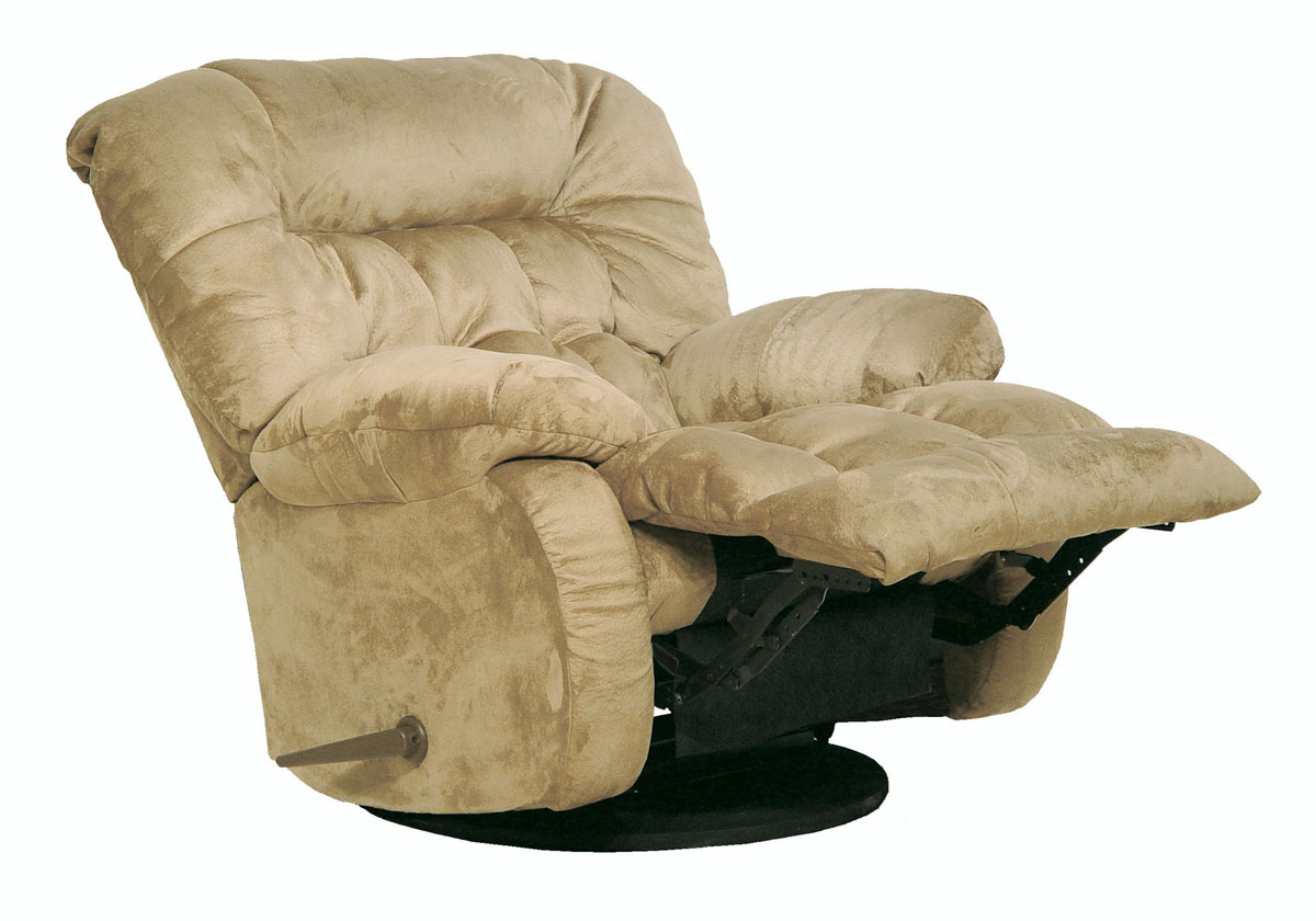 Beige Chaise Swivel Glider Recliner  / $15.99 A Week