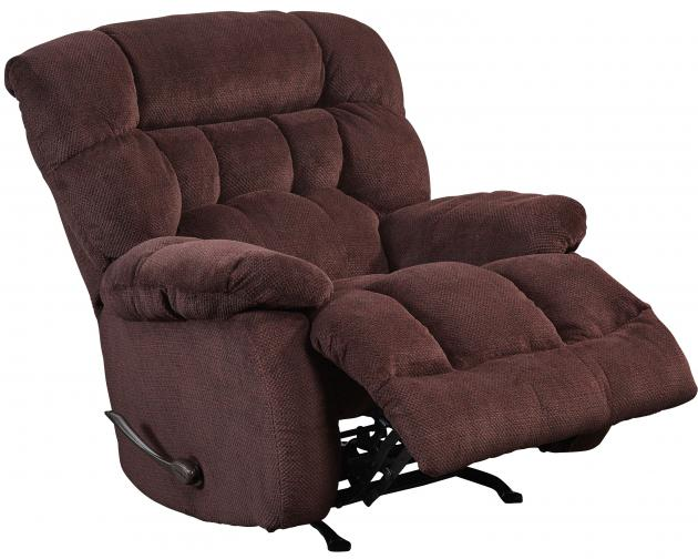 Daly Burgundy Power Lay Flat Recliner  / $17.99 A Week