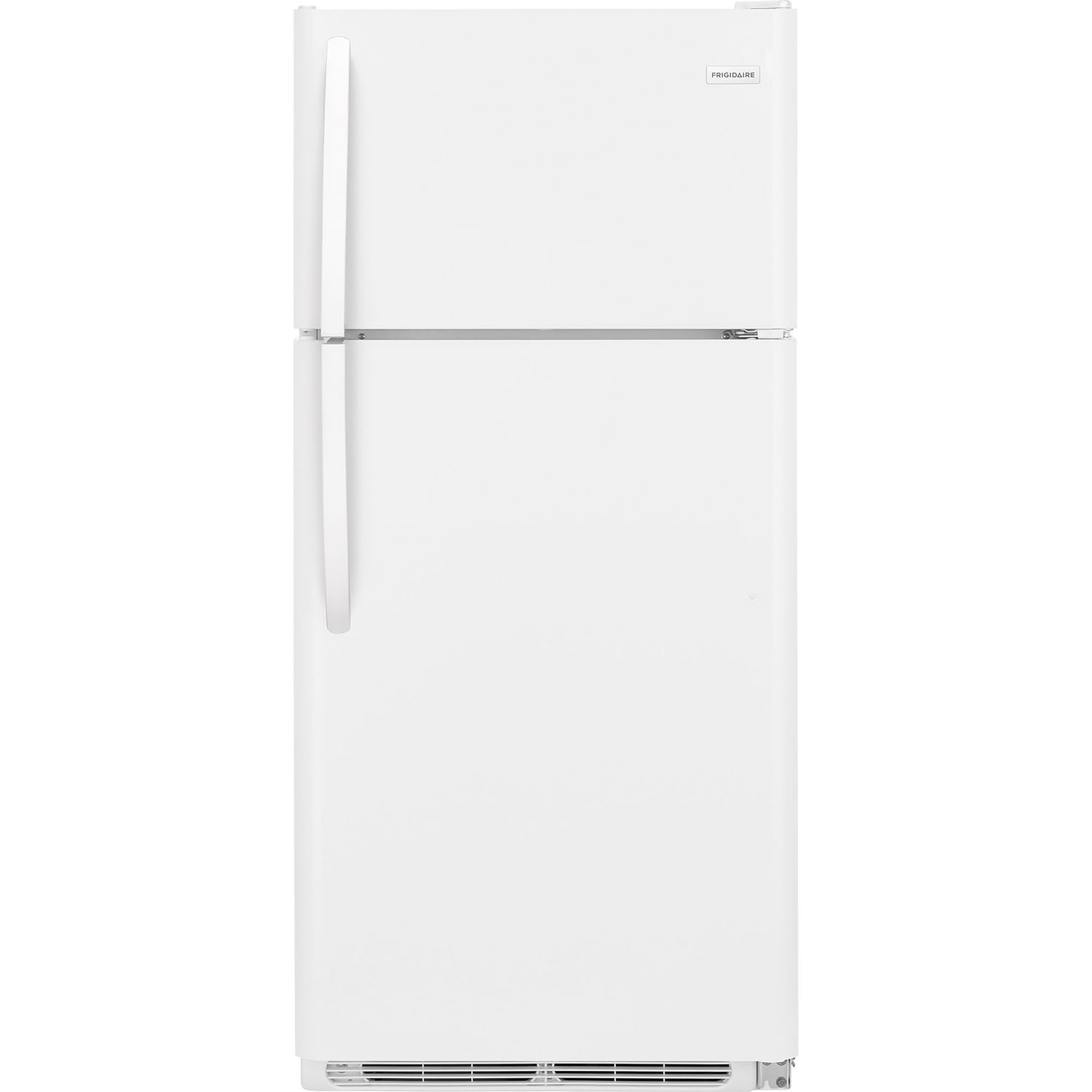 Frigidaire 18 Cu. Ft. White Top Freezer Refrigerator  / $14.99 A Week