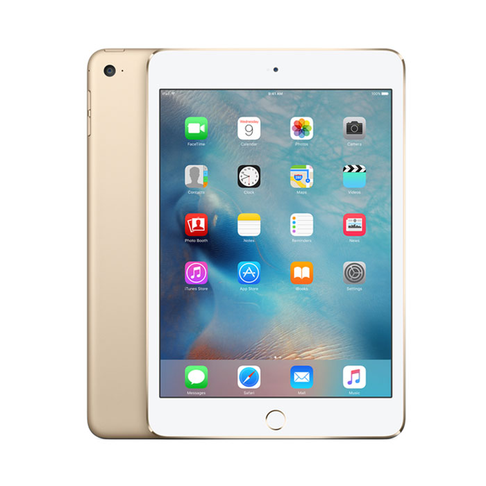 Apple Gold iPad Mini 4 With Wi-Fi, 128GB  / $35.99 A Week