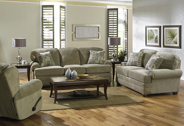 Braddock Mineral Sofa and Loveseat  / $32.99 A Week
