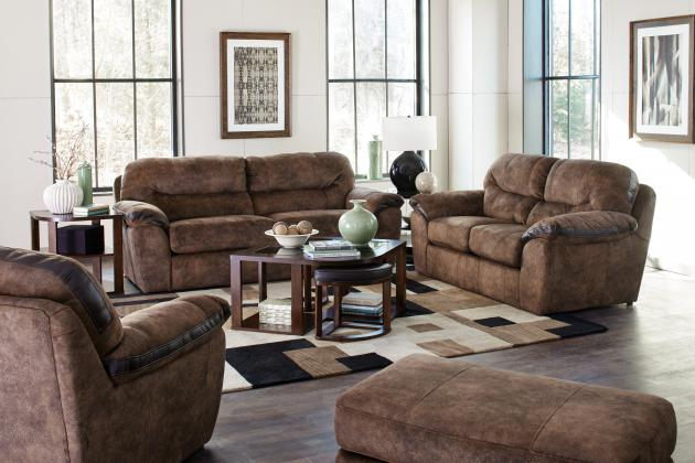Atlee Pewter Sofa and Loveseat  / $31.99 A Week