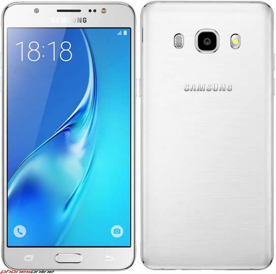 Samsung Galaxy J7 White Smartphone  / $21.99 A Week