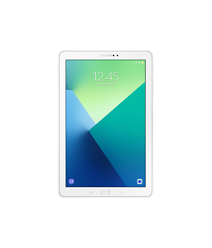 "Samsung Galaxy 10.1"" White Tablet  / $21.99 A Week"