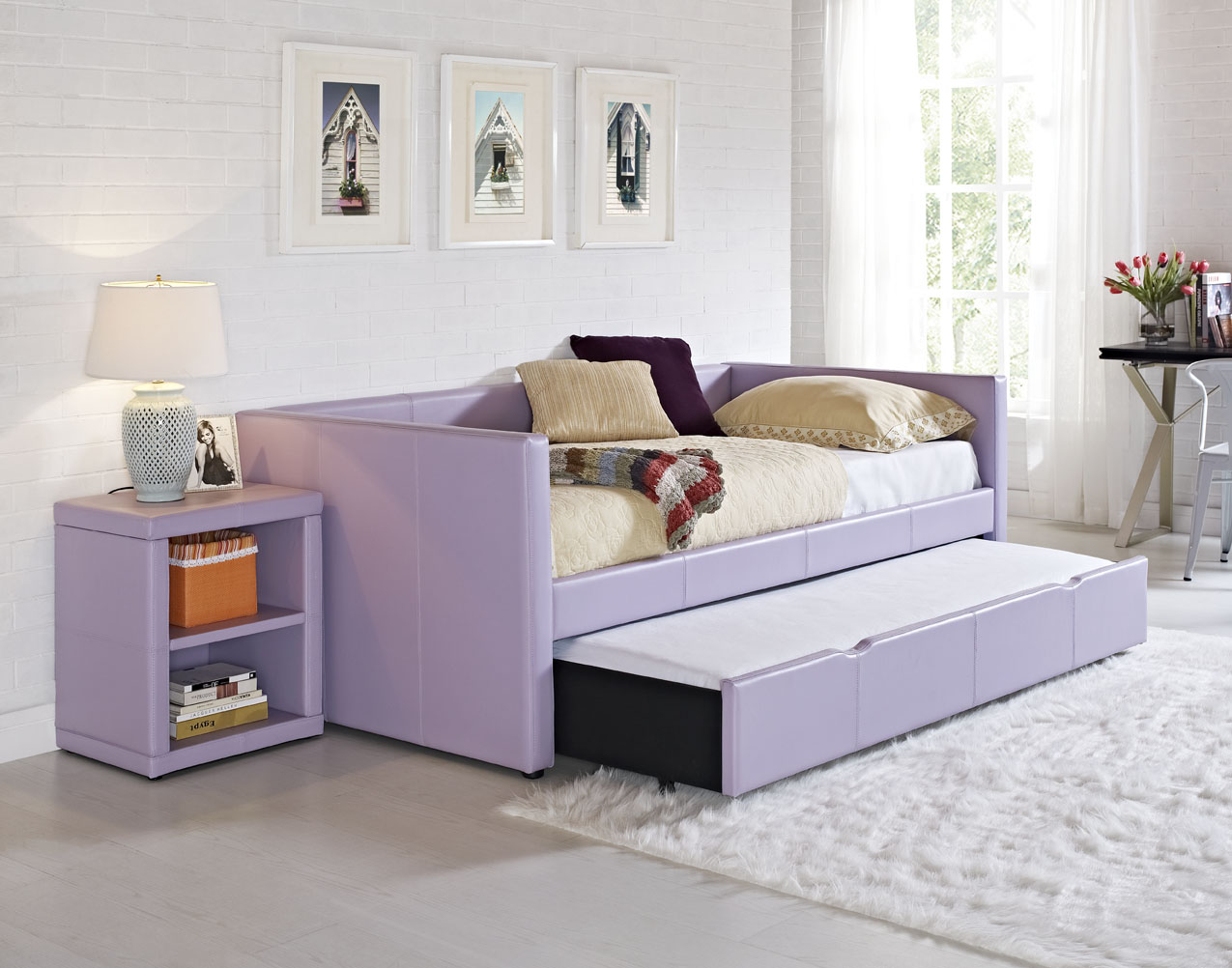 Majik Lindsey Purple Youth Daybed Rent To Own