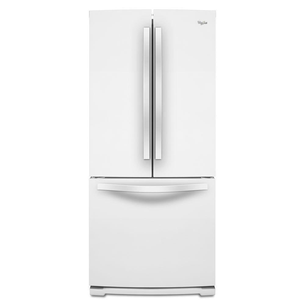 Majik Whirlpool 19 7 Cu Ft French Door Refrigerator