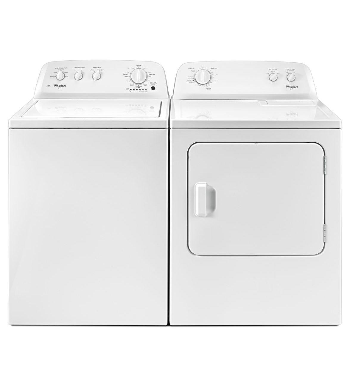 whirlpool top load washer u0026 dryer