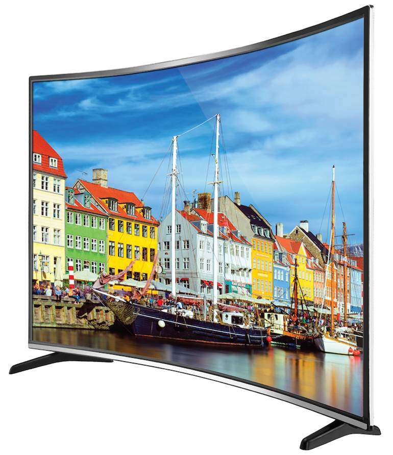 "Bolva 55"" Ultimate LED Curved 4K TV  / $19.99 A Week"