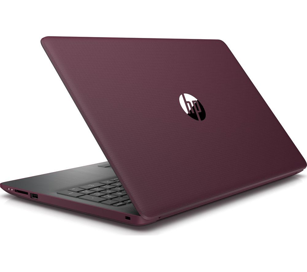 Hp 15 6 Quot Refurbished Burgundy Laptop Majik Rent To Own