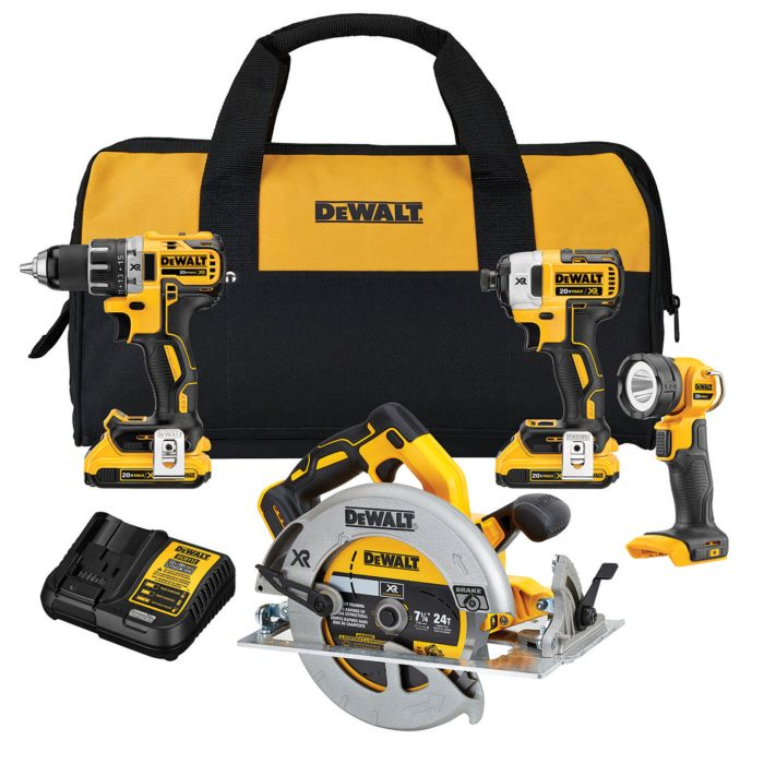 Dewalt 4 Tool Bundle  / $19.84 A Week