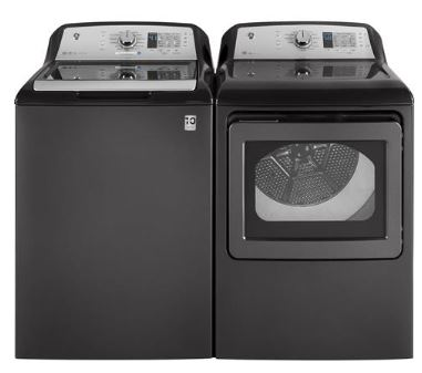 GE Diamond Gray Top Load Washer & Electric Dryer  / $34.99 A Week