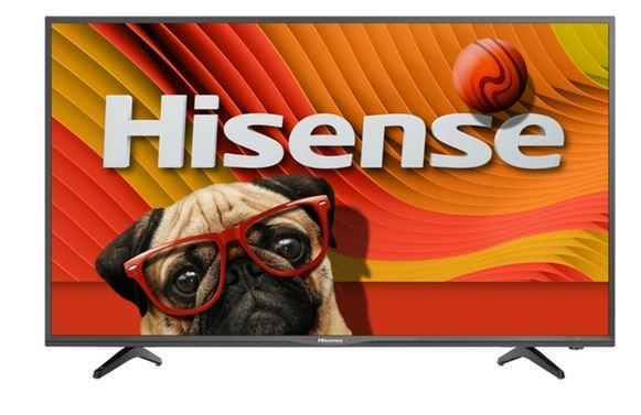 """Hisense 43""""  1080p Smart LED TV  / $15.99 A Week"""