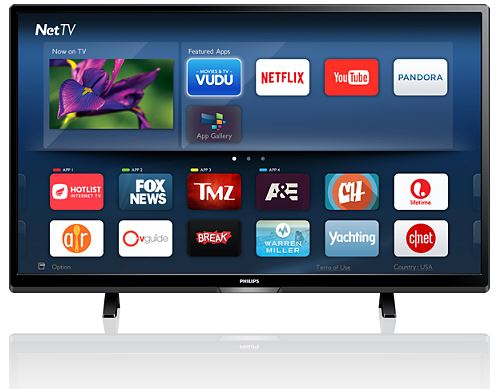"Philips Refurbished 50"" 4K Smart LED TV  / $14.99 A Week"